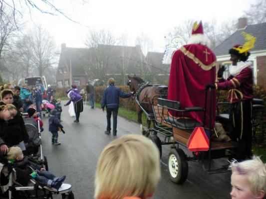 Sinterklaas in Garsthuizen - Startenhuizen 2018