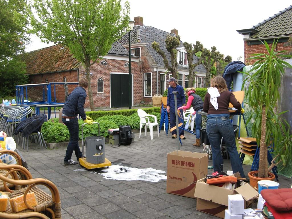 Schoonmaak Binhoes Garsthuizen