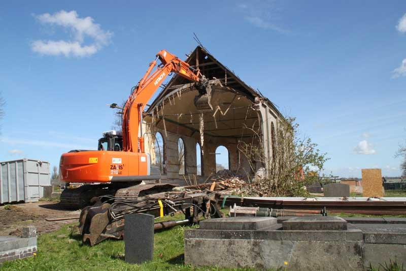 kerk garsthuizen afgebroken