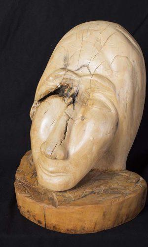 houten beelden van Johan de Meester