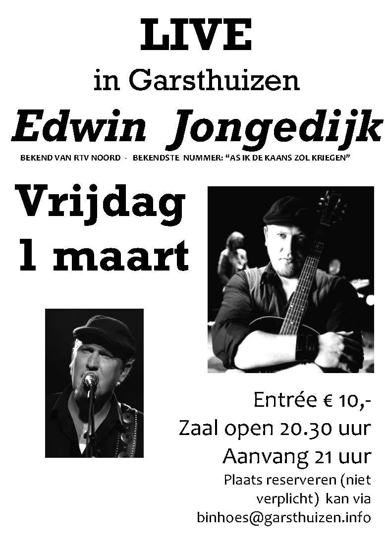 Edwin Jongedijk in Garsthuizen