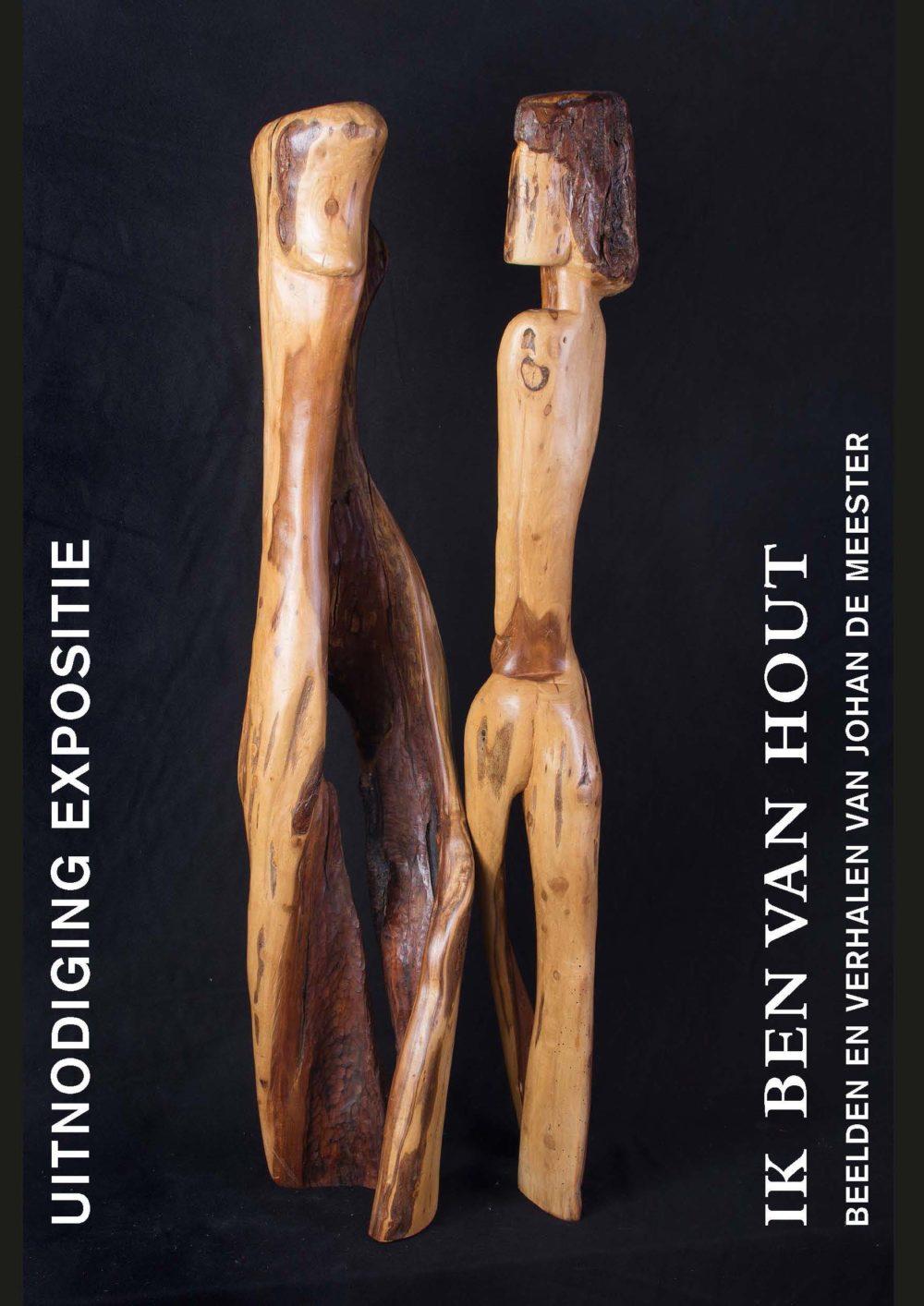 uitnodiging expositie Johan de Meester in Oldenzijl
