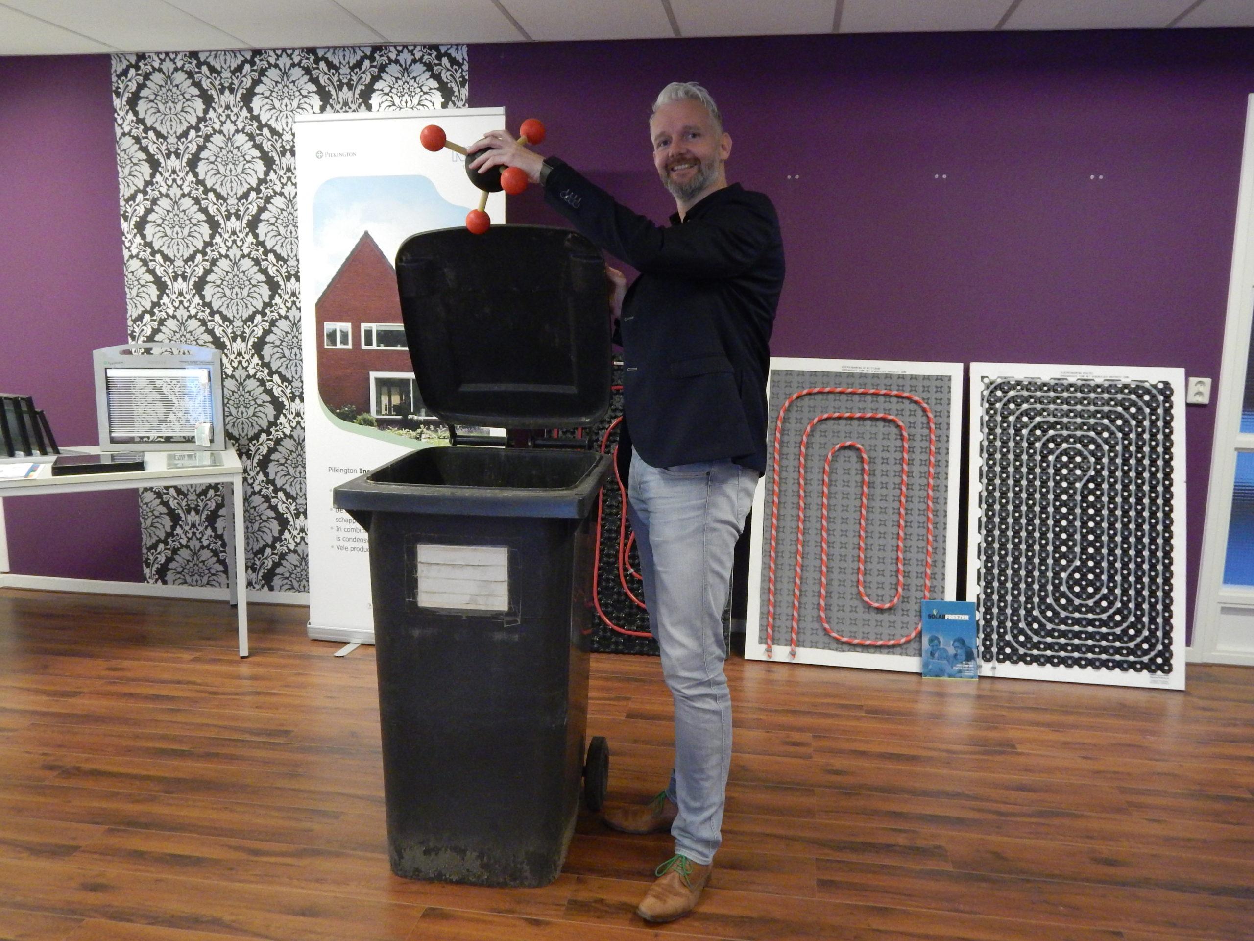 Wethouder Schollema opent symbolisch expositieruimte - 4 november 2020