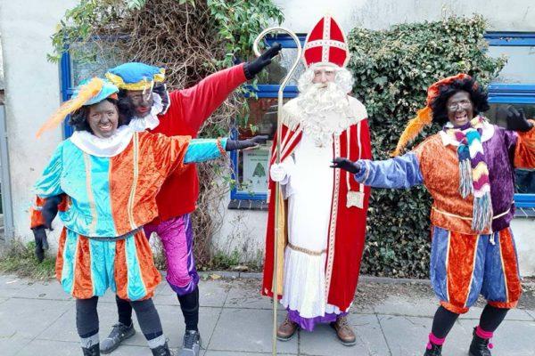 Sinterklaas in Garsthuizen 2020